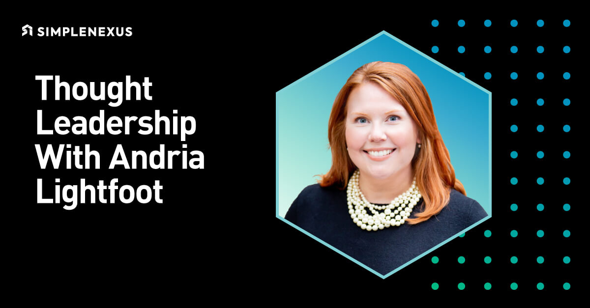Thought Leadership with Andria Lightfoot