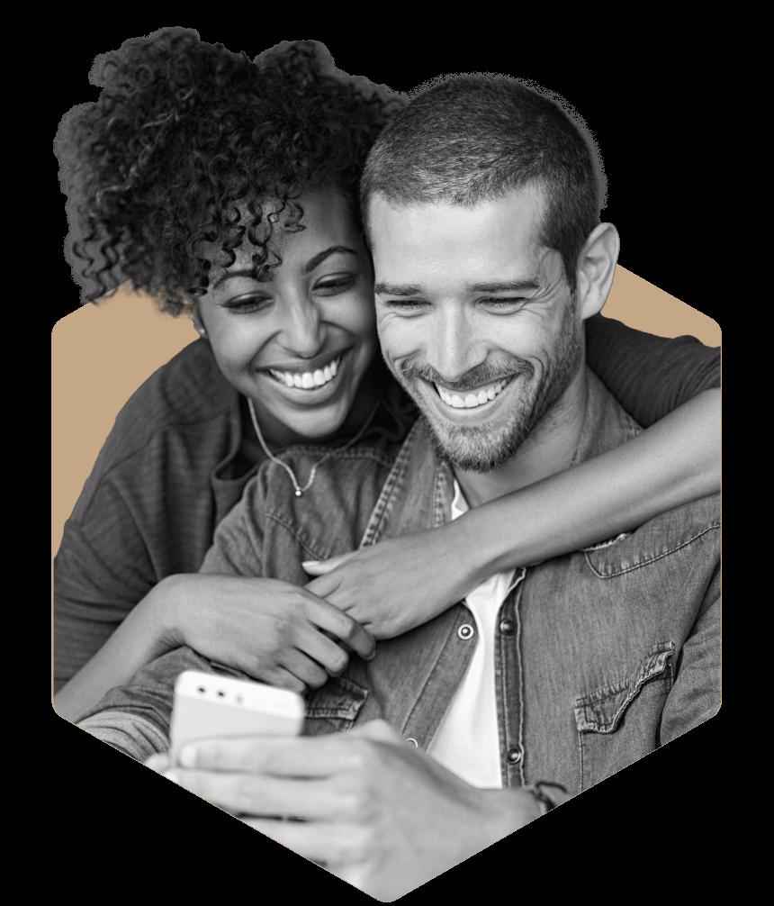 Home buyers using an app